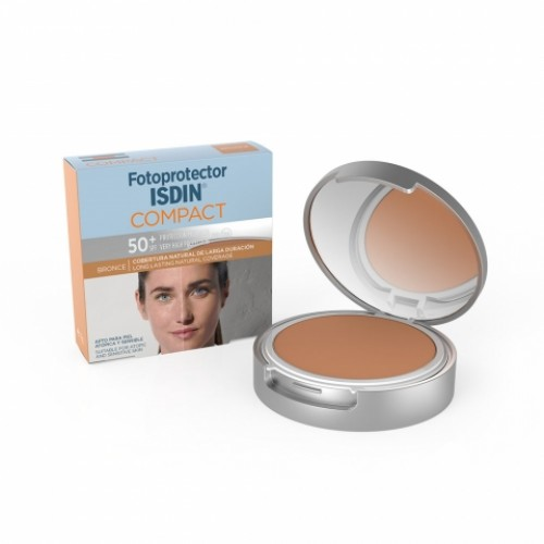 Fotoprotector Isdin Compacto SPF 50+ 10 G BRONCE