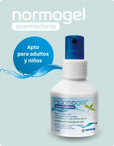 NORMOGEL QUEMADURAS SPRAY 75ML