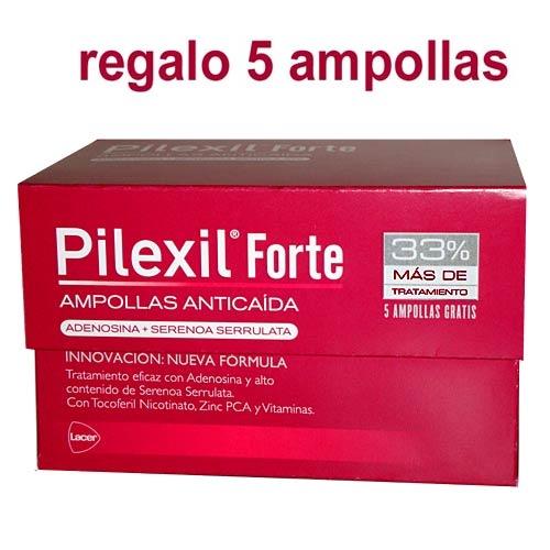 PILEXIL ANTICAIDA FORTE 15 AMP + 5 AMPOLLAS GRATIS