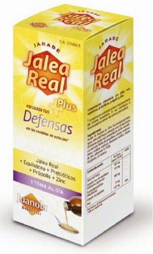 JUANOLA JALEA REAL ADULTOS DEFENSAS JBE 250 ML