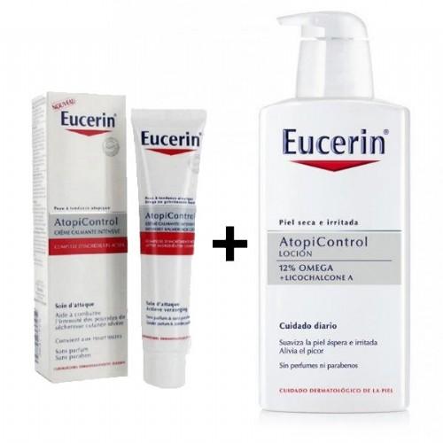 EUCERIN ATOPIC PACK CREMA FORTE+ LOCION 400ML