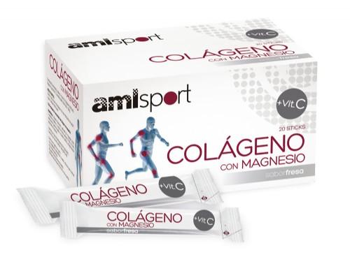 COLAGENO CON MAGNESIO + VIT C  STICKS (20 STICKS)