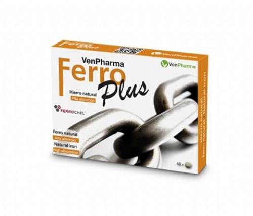 VENPHARMA FERRO PLUS 60 CP