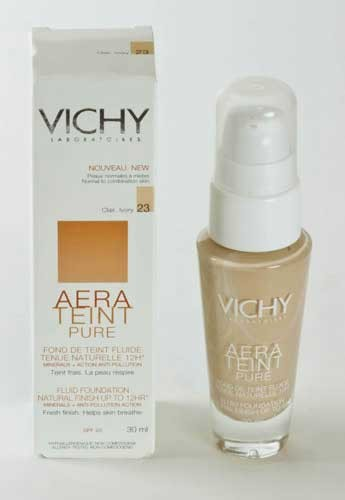 AERA TEINT PURE FONDO P NORMAL Y MIXTA - MAQUILLAJE FLUIDO (30 ML CLAIR IVORY 23)