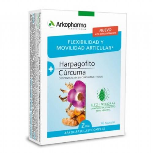 Arkopharma harpagofito y curcuma arkocapsulas complex (40 capsulas)