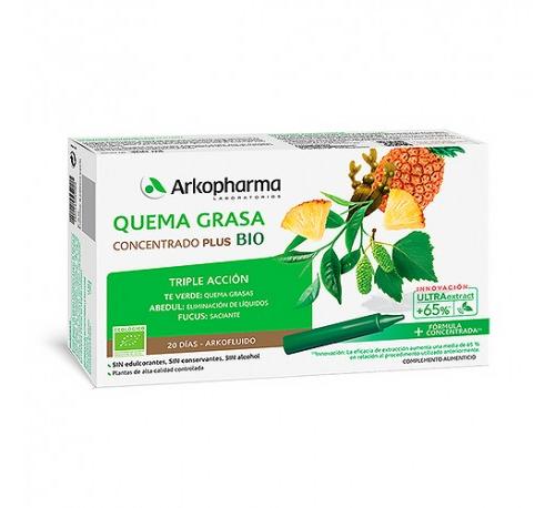 Arkofluido quemagrasa (20 ampollas)