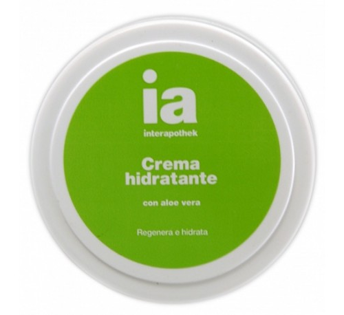 Interapothek crema hidratante aloe vera (200 ml)