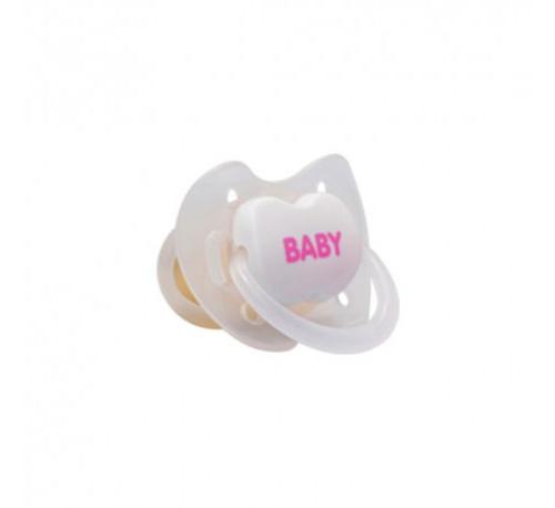 Chupete latex - interapothek ia baby anatomico (0-6  meses rosa2 u)