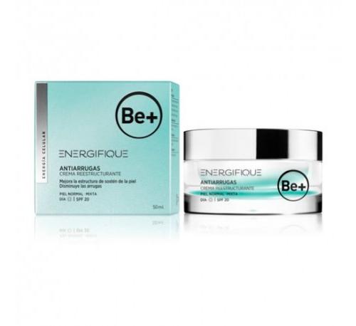 Be+ energifique antiarrugas crema hidratante - reestructurante piel normal mixta spf20 (50 ml)