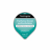 Neutrogena purifying boost express facial - clay-mask purificante/detox (10 ml)