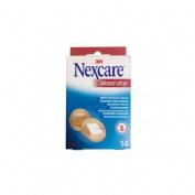 3m nexcare blood stop - aposito coagulante (redonda 22.5 mm 30 apositos)