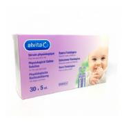 Alvita suero fisiologico esteril aerosolterapia (30 ampollas 5 ml)