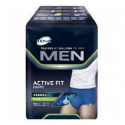 Absorb inc orina dia anat - tena men pants active fit (grande 8 u)