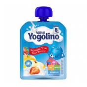 Nestle yogolino manzana-fresa (90 g bolsa)