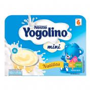 Nestle yogolino mini natillas (100 g 6 tarrinas)
