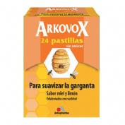 ARKOVOX 24 PASTILLAS MIEL LIMO