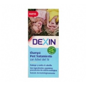 Dexin champu post tratamiento con arbol del te (150 ml)
