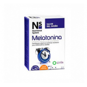 N+S MELATONINA 30CO MAST NARAN
