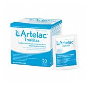 Artelac toallitas esteriles limpieza parpados (20 toallitas)