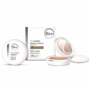 Be+ skin protect maquillaje compacto spf50+ (piel oscura 10 g)