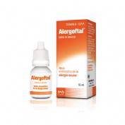 ALERGOFTAL 0,25 mg/ml+ 5 mg/ml COLIRIO EN SOLUCION , 1 frasco de 10 ml