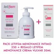 LETIFEM MENOV INTIM 250ML+ REGAL CREMA VULVAR