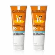Anthelios duplo wet skin pediatrics spf 50+ 2 *250 ml 2ª unidad al 50 % descuento