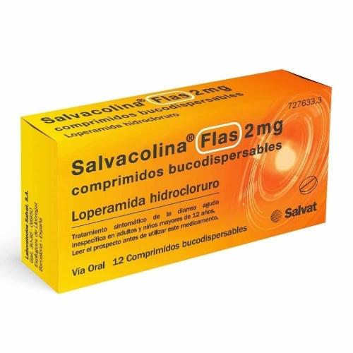 SALVACOLINA FLAS 2 MG COMPRIMIDOS BUCODISPERSABLES,12 comprimidos