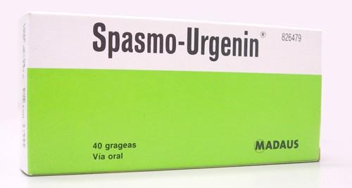 SPASMO-URGENIN COMPRIMIDOS RECUBIERTOS , 40 comprimidos