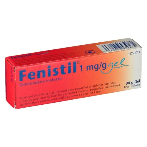 FENISTIL 1 mg/g GEL , 1 tubo de 30 g