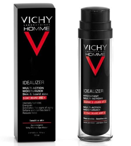 Vichy homme idealizador de piel con barba (50 ml)