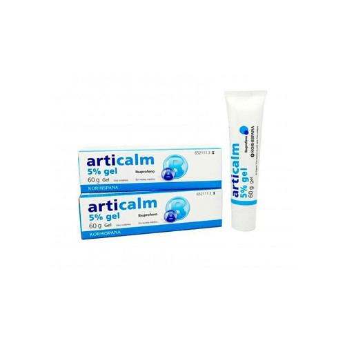 ARTICALM 50 mg/g  GEL , 1 tubo de 60 g