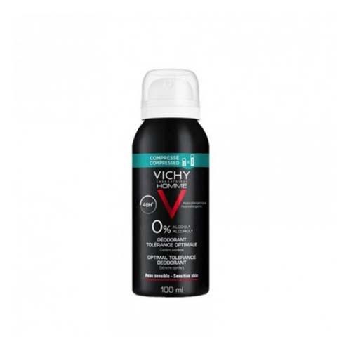 Vichy homme desodorante tolerancia optima 48 h comprimido (1 envase 100 ml aerosol)