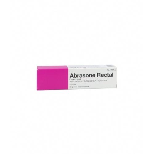 ABRASONE RECTAL, CREMA RECTAL  , 1 tubo de 30 g