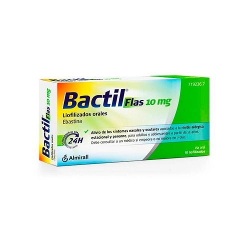 Bactil flas 10 mg 10 comp