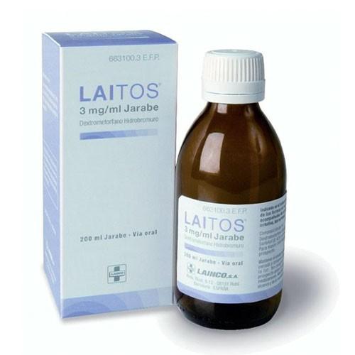 LAITOS  3 mg/ml JARABE, 1 frasco de 200 ml
