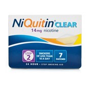 NIQUITIN CLEAR 14 MG/24 HORAS PARCHE TRANSDERMICO 14 parches transdermicos