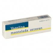 VASELINA MENTOLADA ORRAVAN 20 mg/g POMADA , 1 tubo de 13 g