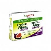 FRUTAS & FIBRAS 240G 24 CUB OR