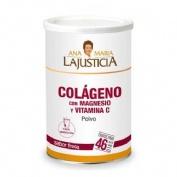 Colageno con magnesio y vitamina c (350 g sabor fresa)