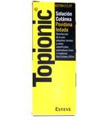 TOPIONIC SOLUCION CUTANEA, 1 frasco de 100 ml