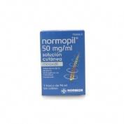 NORMOPIL 50 MG/ML SOLUCION CUTANEA, 1 frasco de 90 ml