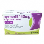 NORMOFIT 60 MG CAPSULAS DURAS, 84 cápsulas