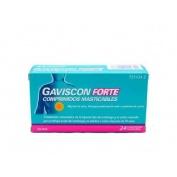 GAVISCON FORTE COMPRIMIDOS MASTICABLES,24 comprimidos