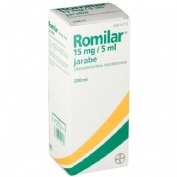 ROMILAR 15 mg/5 ml JARABE , 1 frasco de 200 ml